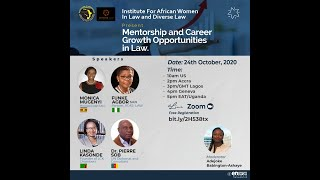 Institute for African Women in Law Mentorship Video