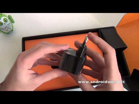 Amazon Kindle Fire HDX 8.9, unboxing in italiano by AndroidWorld.it
