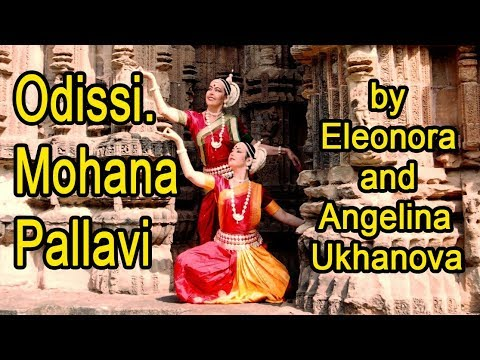 Odissi. Mohana Pallavi by Eleonora and Angelina Ukhanova.