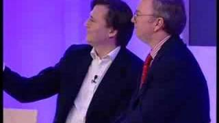 Eric Schmidt & John Micklethwait at Zeitgeist Europe 2007