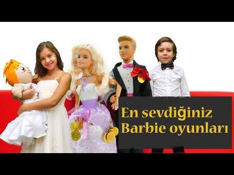 #HayalAilesi - en sevdiğiniz #BarbieOyunları. Barbie Ken'le #DüğünOyunu. #ÇocukDizisi Türkçe