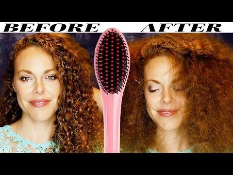 ASMR Hair Brushing Curly Hair! Katie & Corrina Before Straightening ASMR Hair Salon