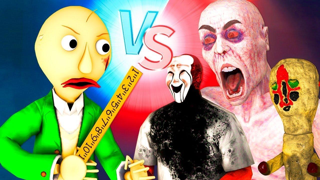 SCP vs Baldi – La película (Español De Todos los Capítulos Bob Animación Shy Guy Máscara Posesiva)