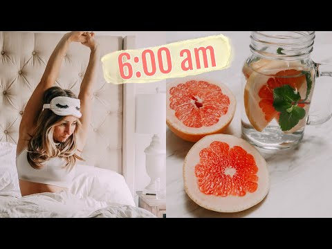 6 am Routine//How to be a morning person 2019