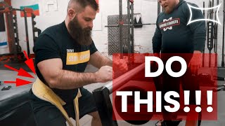 How To Dramatically Improve Your Squat Without Loading The Spine | Matt Wenning Belt Squat