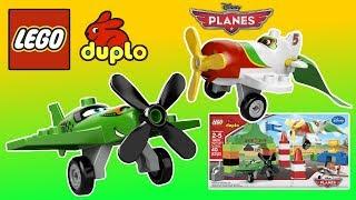 Lego Disney  ✈  Planes Ripslinger  ✈ Air Race Lego Duplo Building Toys For Boys Unboxing