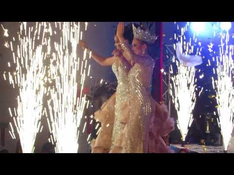SRM María Laura Cardenaz y SM Ana Victoria Castillo  Segundo cambio, Carnavalito Octubrino 2017