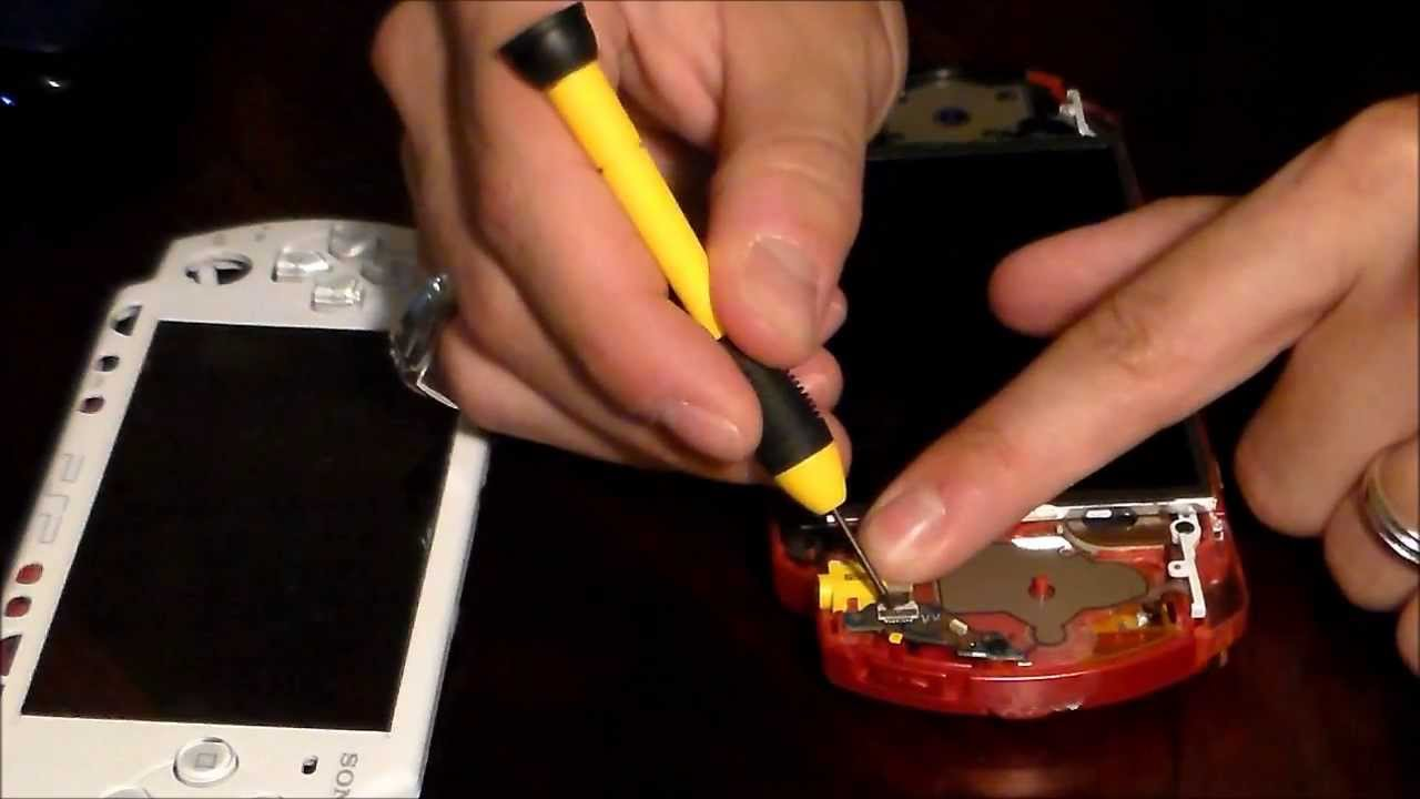 How To Fix Sony Psp Charging Power Port Youtube