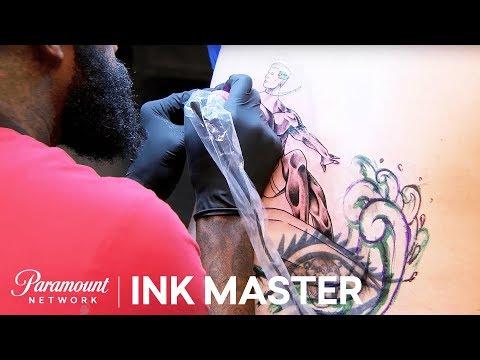 Elimination Tattoo: Tramp Stamp Cover Ups - Ink Master, Season 8