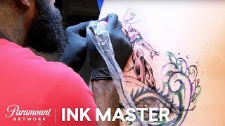 Elimination Tattoo: Tramp Stamp Cover Ups - Ink Master, Season 8