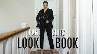 WOMENS PANT SUITS LOOKBOOK | Trouser suits for Ladies | Fashion Over 40