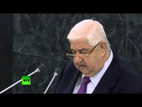 'Terrorists from 83 countries fighting in Syria' - FM to UN Assembly 2013 (FULL SPEECH)