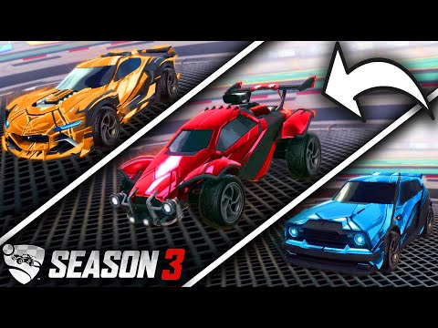 The *NEW* Season 3 Competitive Rewards In Rocket League!