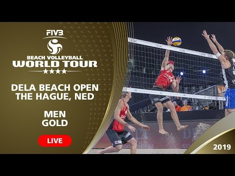 Men's Final: RUS Vs GER | 4* The Hague (NED) - 2019 FIVB Beach Volleyball World Tour