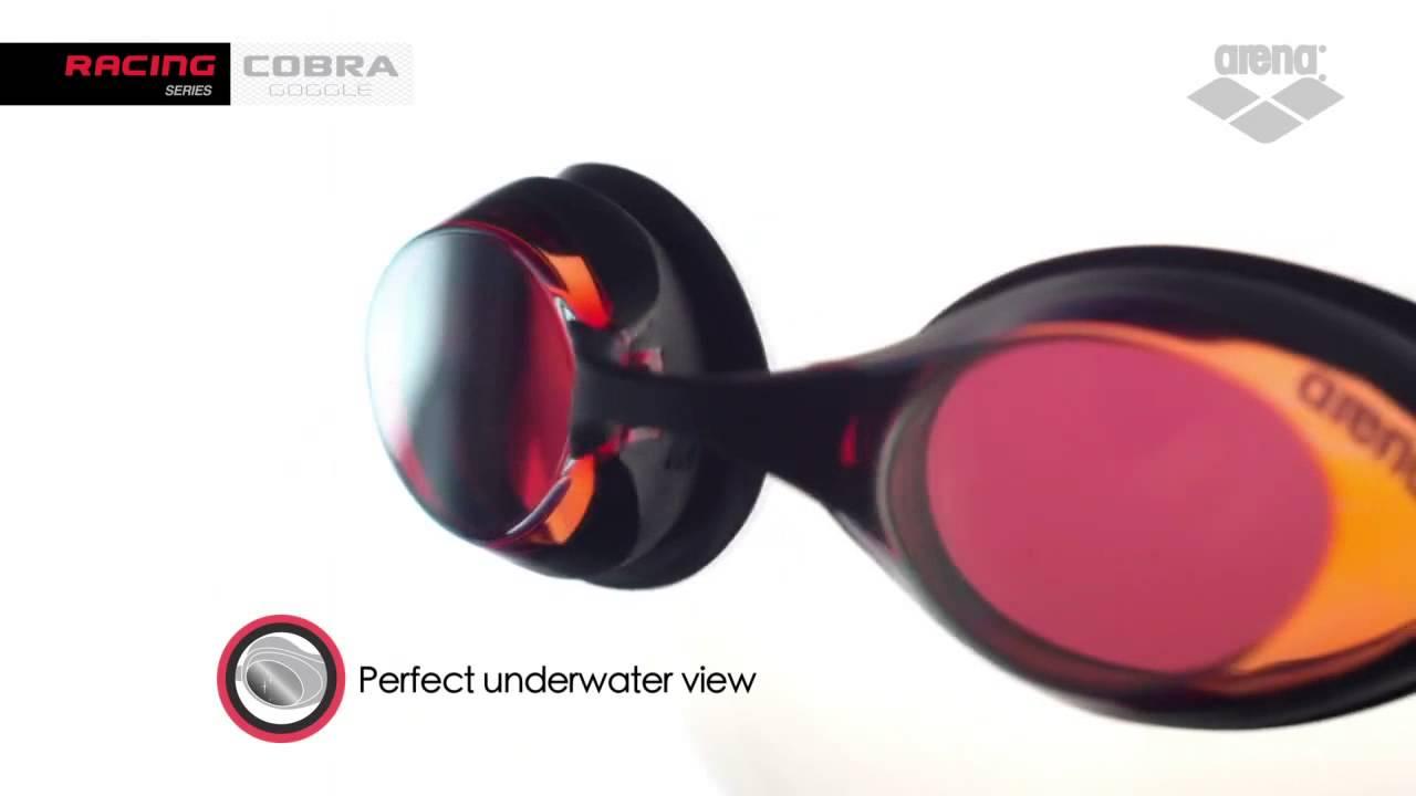 Очки для плавания Arena Cobra Ultra Goggles - YouTube