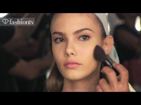 Hair & Makeup - Hair & Makeup at SPFW ft Ana Claudia Michels & Izabel Goulart | Forum Spring/Summer 2013 | FashionTV