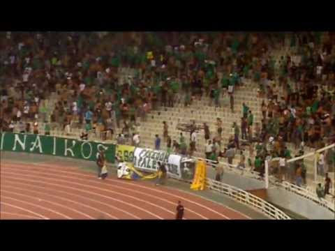 Gate 13 Rioting & Stealing Banners From Maccabi Fans  25/8/2011