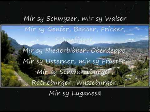 Stiller Has  Walliselle mit Lyrics