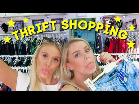 THRIFT SHOPPING WITH ME   Australian Thrift Stores!