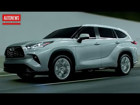 Новый Toyota Highlander (2020): гибрид и новая платформа