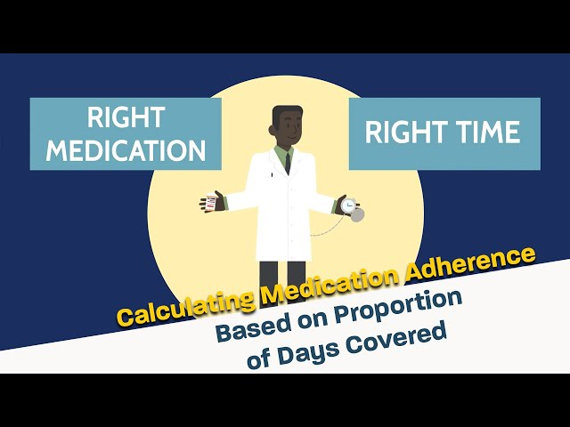 Calculating Medication Adherence Based on Proportion of Days Covered