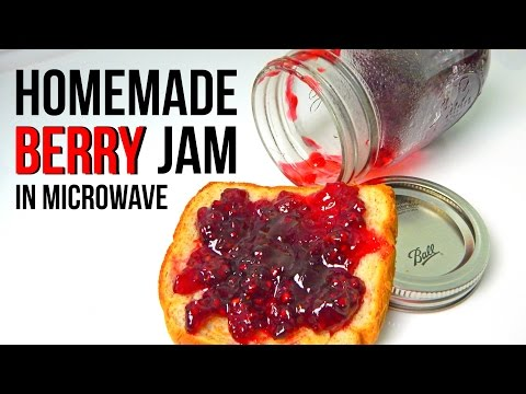 homemade-berry-jam-in-microwave---super-fast-&-simple-recipe---inspire-to-cook