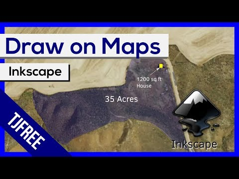 Inkscape - Real World Maps With Vector Overlays