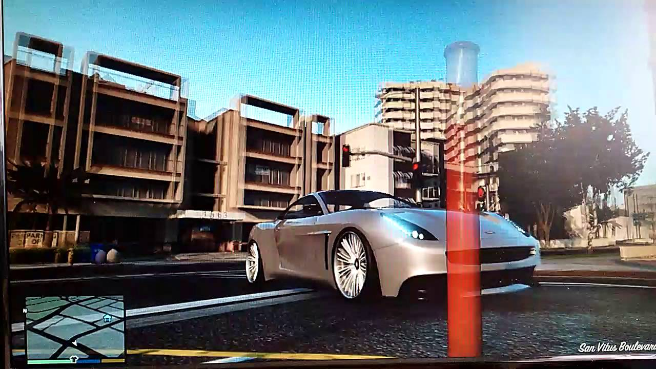 Voiture cach gta 5 mode histoire youtube for Voiture garage gta 5 mode histoire