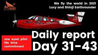 Day 31~43rd highlights: Shinji & Lucy Earthrounder -