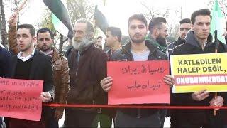 أخبار عربية - اعتصام شعبي للتنديد بمجازر الأسد وروسيا في حلب