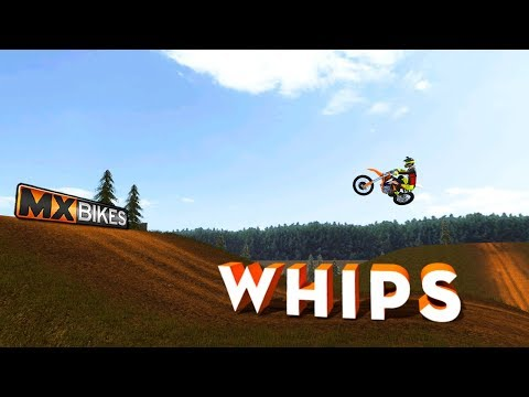 THROWING WHIPS OFF THESE BIG STEP UPS! - MX Bikes Gameplay