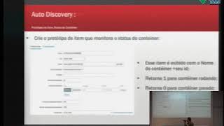 Monitoramento de conteiners Docker SWARM e aplicações WEB com Zabbix