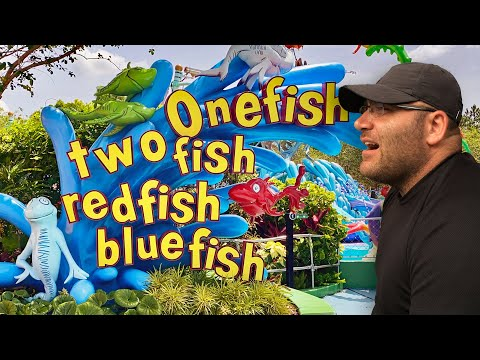 One Fish, Two Fish, Red Fish, Blue Fish. Islands of Adventure (Orlando)