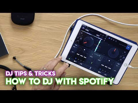 How To DJ With Spotify (Djay 2 / Pro, iOS, Windows, Mac...)