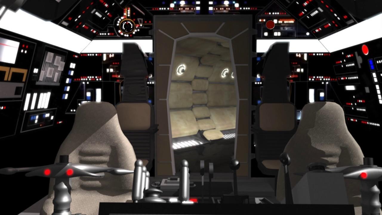 Star Wars Green Screen Backgrounds Millennium Falcon Cockpit