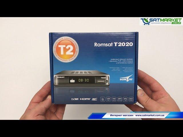 Видео обзор Romsat T2020