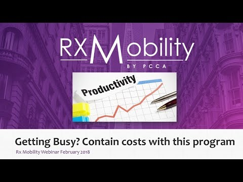 Getting Busy  contain costs with this program Webinar Feb 2018