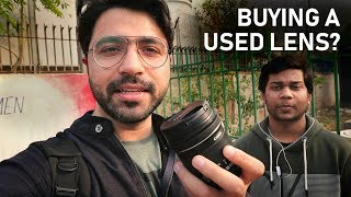 Buying a USED CAMERA LENS