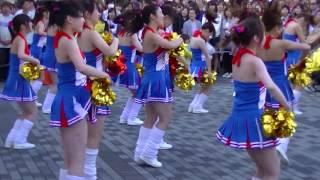 女子大生のチアダンス発表.