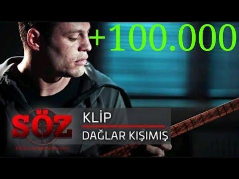 söz dizisi türkü / DAĞLAR KIŞIMIŞ /