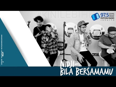 NIDJI - BILA BERSAMAMU | LIVE AT NOMADEN MUSIC SHELTER @MOTION975FM