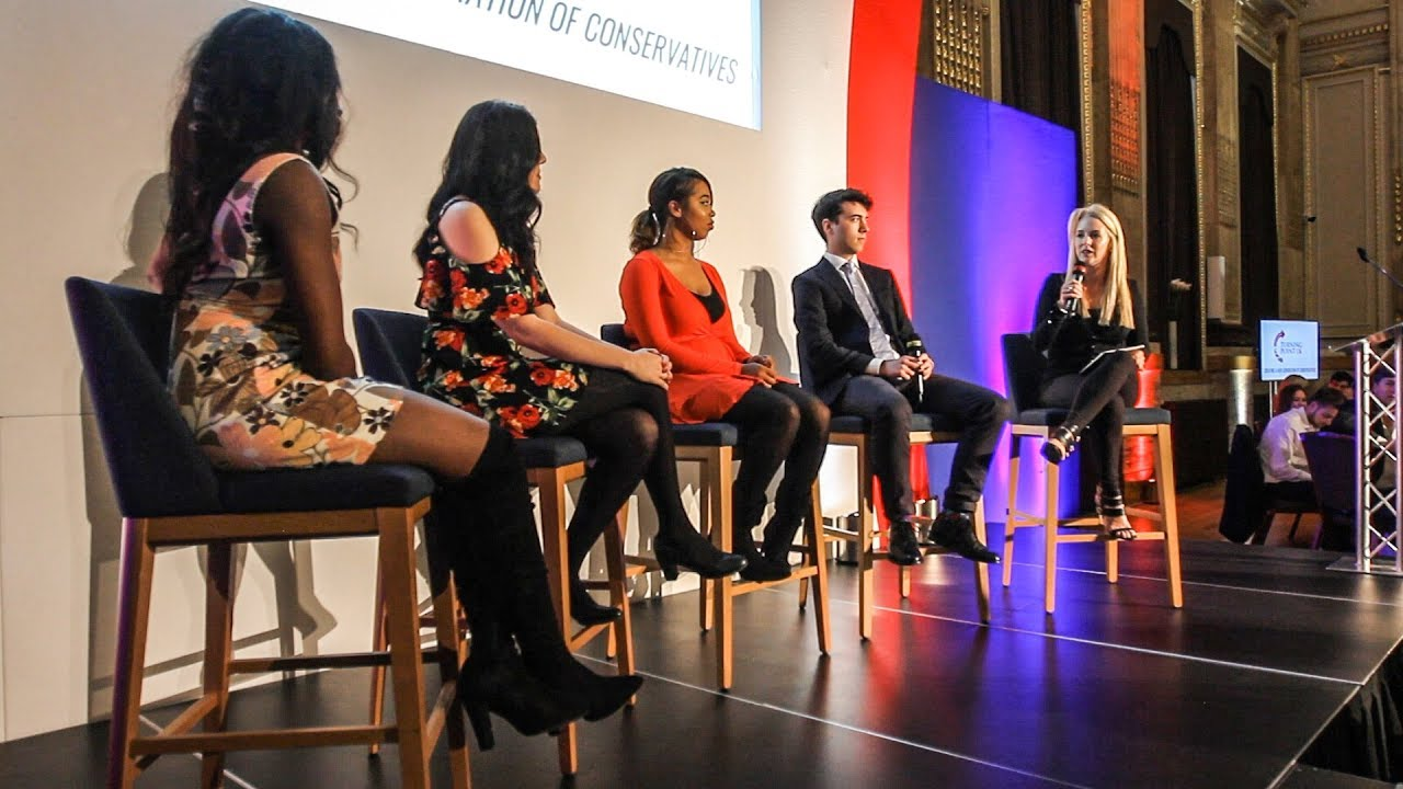 TPUK Young Influencers Panel - Turning Point UK Annual Dinner