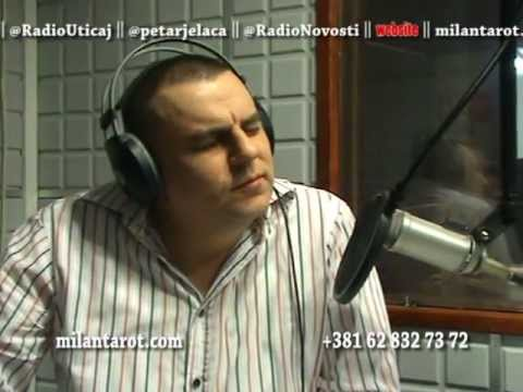 Emisija Uticaj (Radio Novosti) - Milan Tarot