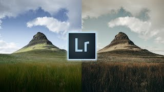 How to Edit Gold & Blue Landscapes Lightroom Tutorial For Instagram Landscape Warm Edit