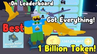 Getting The Best Kicks & Tricks! Earned 1 Billion Tokens! Top Leaderboard - Bounce!