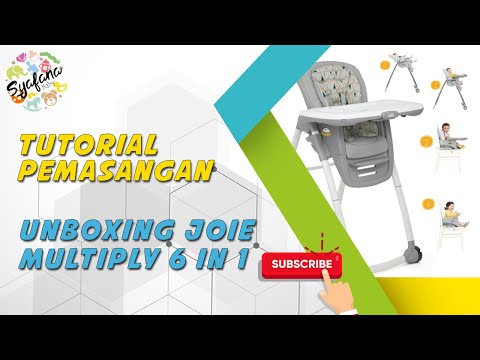 Unboxing Joie Multiply 6 In 1 Highchair