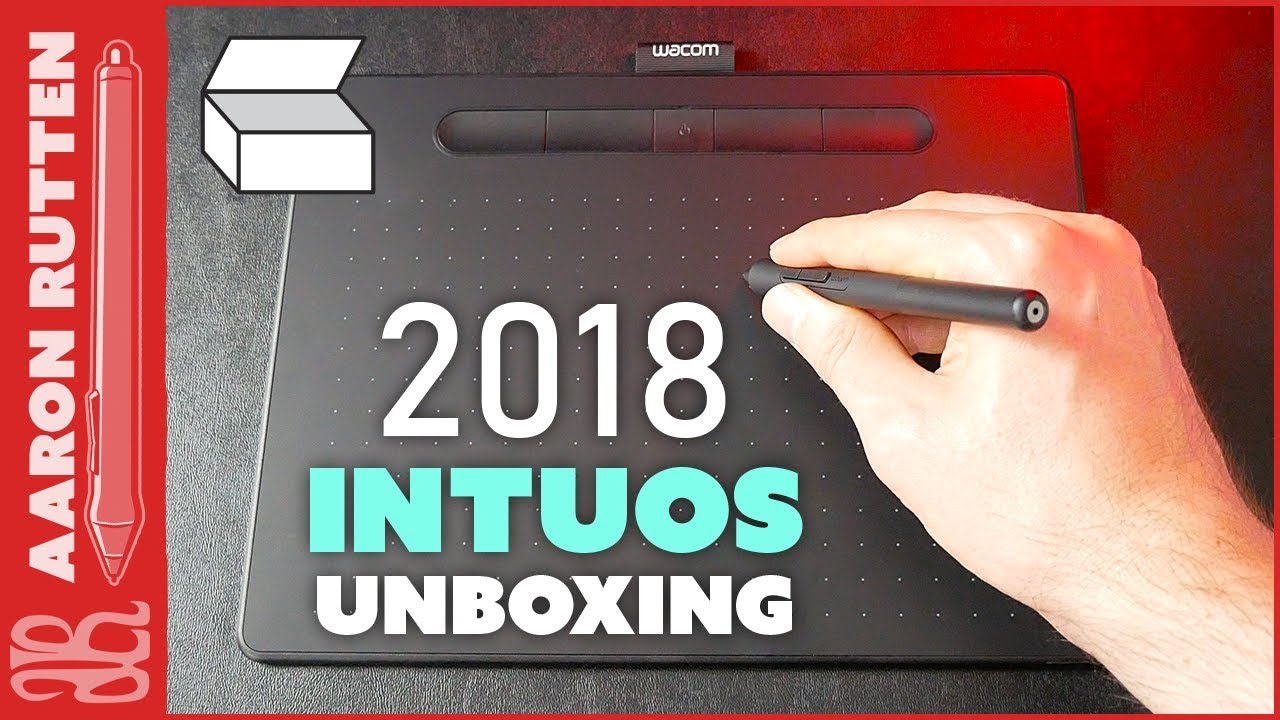 New WACOM INTUOS 2018 - Unboxing & Overview 🖍
