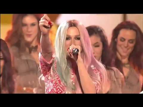 Pitbull & Ke$ha   Timber live American Music Awards 2013 AMA