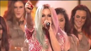 Pitbull & Ke$ha   Timber live American Music Awards 2013 AMA