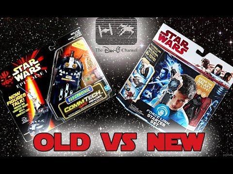 Star Wars Force Link VS Comm Tech Reader | Old Vs New ...